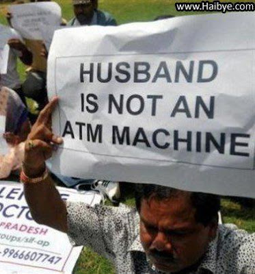 ATM Machine Funny picture - Husband is not an ATM Machine, Husband Funny picture