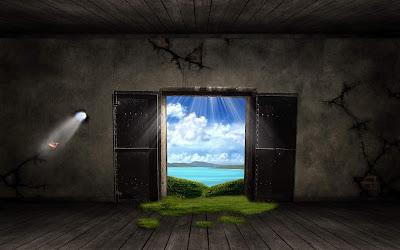 HD Creative fantasy door wallpapers 1680x1050