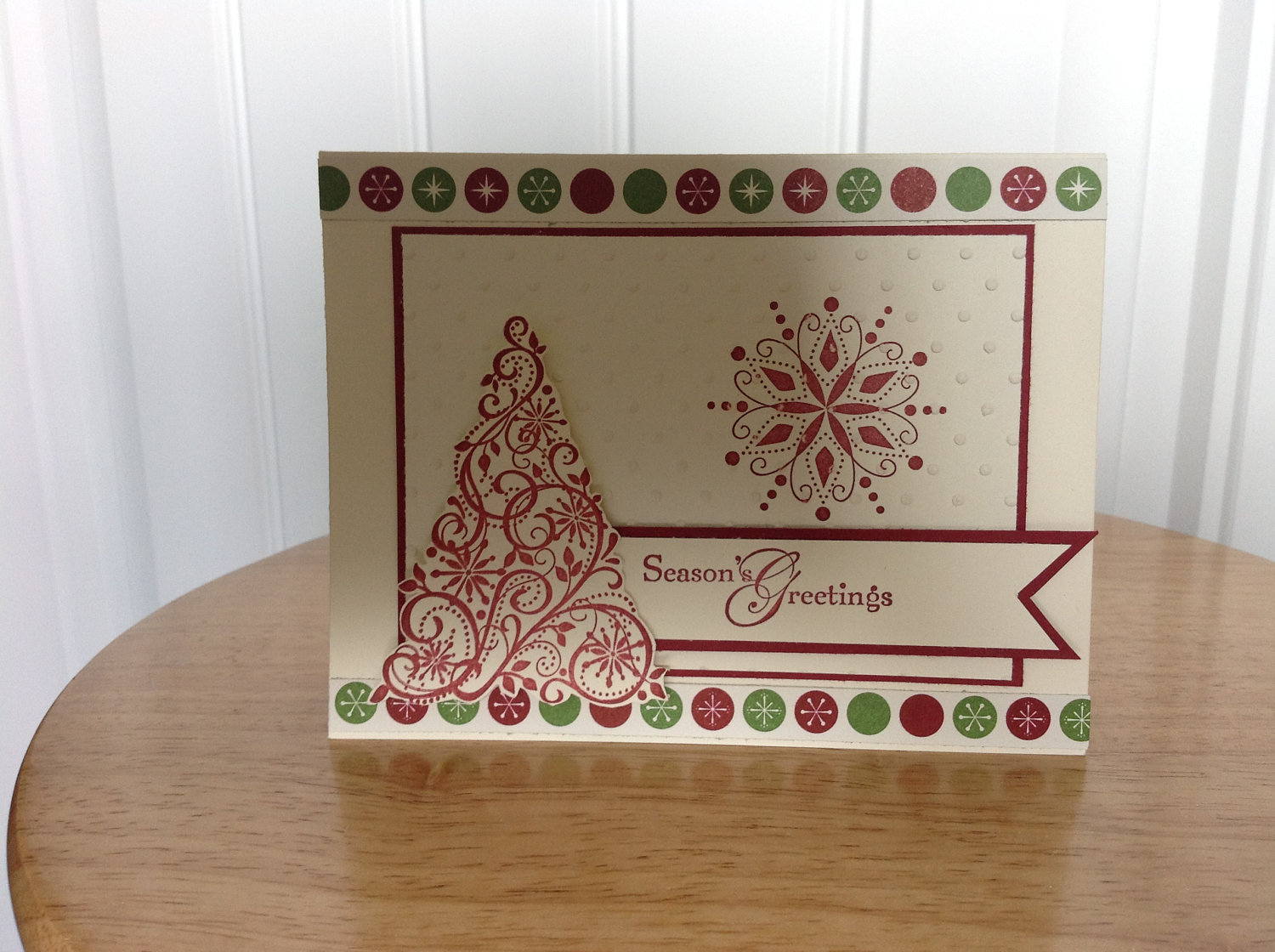 Handmade christmas cards let 39 s celebrate for Make your own homemade christmas cards