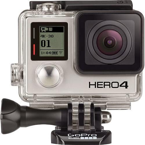 A Hero4 Black vem com um estojo que permite que ela opere embaixo d'água em profundidades de até 40 metros