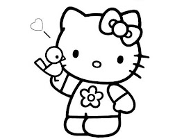 Cute Kitten Coloring Pages For Kids