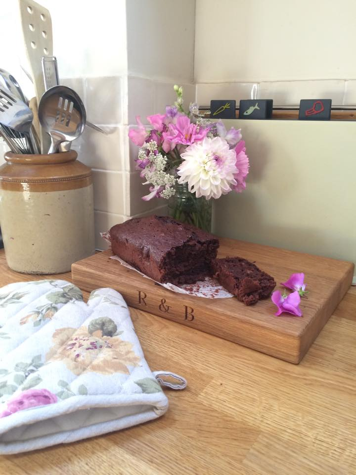 Food A Healthy But Yummy Chocolate Courgette Fudge Cake