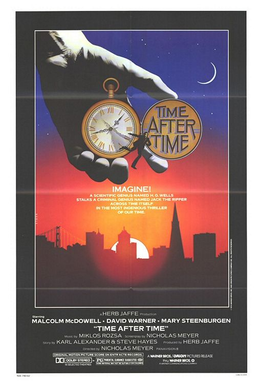 Vagebond's Movie ScreenShots: Time After Time (1979)