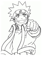 Latest Naruto Shippuden Printable Kids Coloring Pages