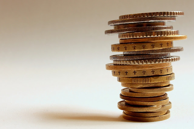 balance - stack of coins