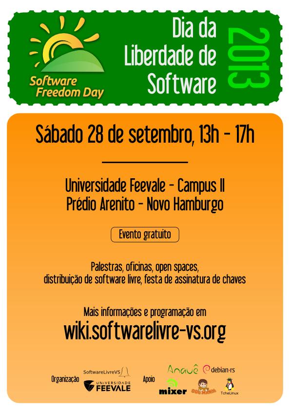 dia da liberdade software novo hamburgo 2013