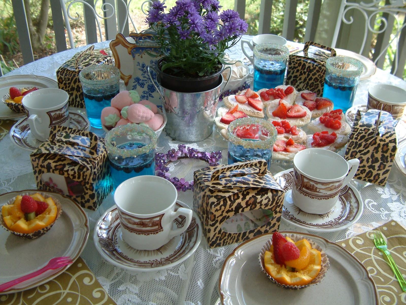 Tea Party Table Settings Ideas : Aprils Country Life: Tea Party Table Settings - For the Girls