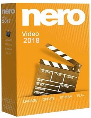 Nero Video 2018 19.0.01000 poster box cover