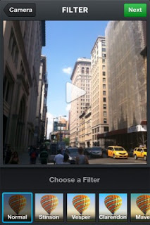 Select the filter you want