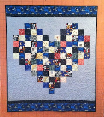 Brandon's Quilt, Star Wars Quilt, Therapeutic Quilting