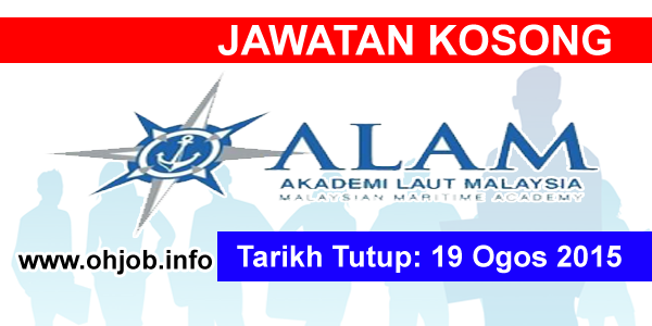 Jawatan Kerja Kosong Akademi Laut Malaysia (ALAM) logo www.ohjob.info ogos 2015