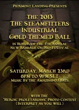 The 2013 Steamfitters Industrial Gold Themed Ball