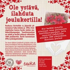http://www.taikalehti.fi/tapahtumat/ole-ystava-ilahduta-joulukortilla/