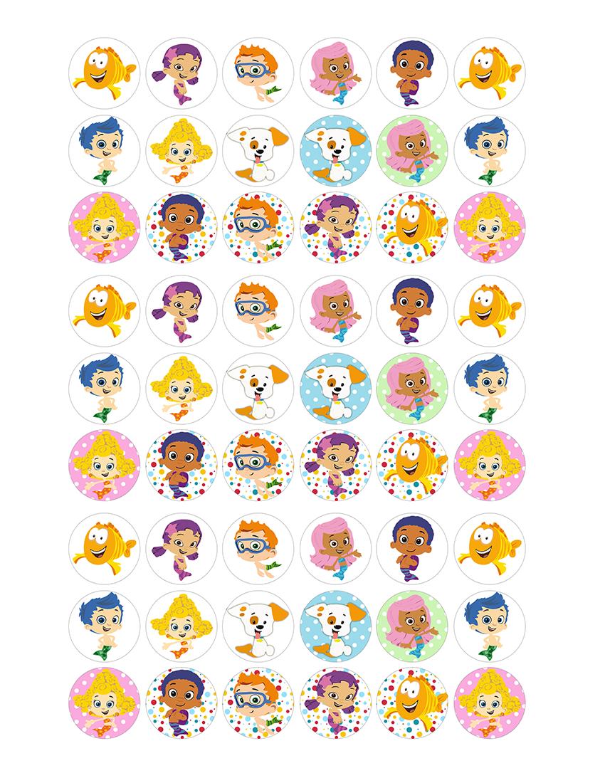 free printable invitation bubble guppies free collage 1 inch