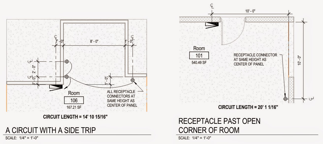Revit oped revit mep circuit length calculation a friend some years ago sent me a pdf that showed a bunch a couple shown above of different equipment and device layout schemes he did to better greentooth Images