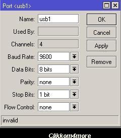 Setting Hotspot Mikrotik RB 751U Dengan Modem USB