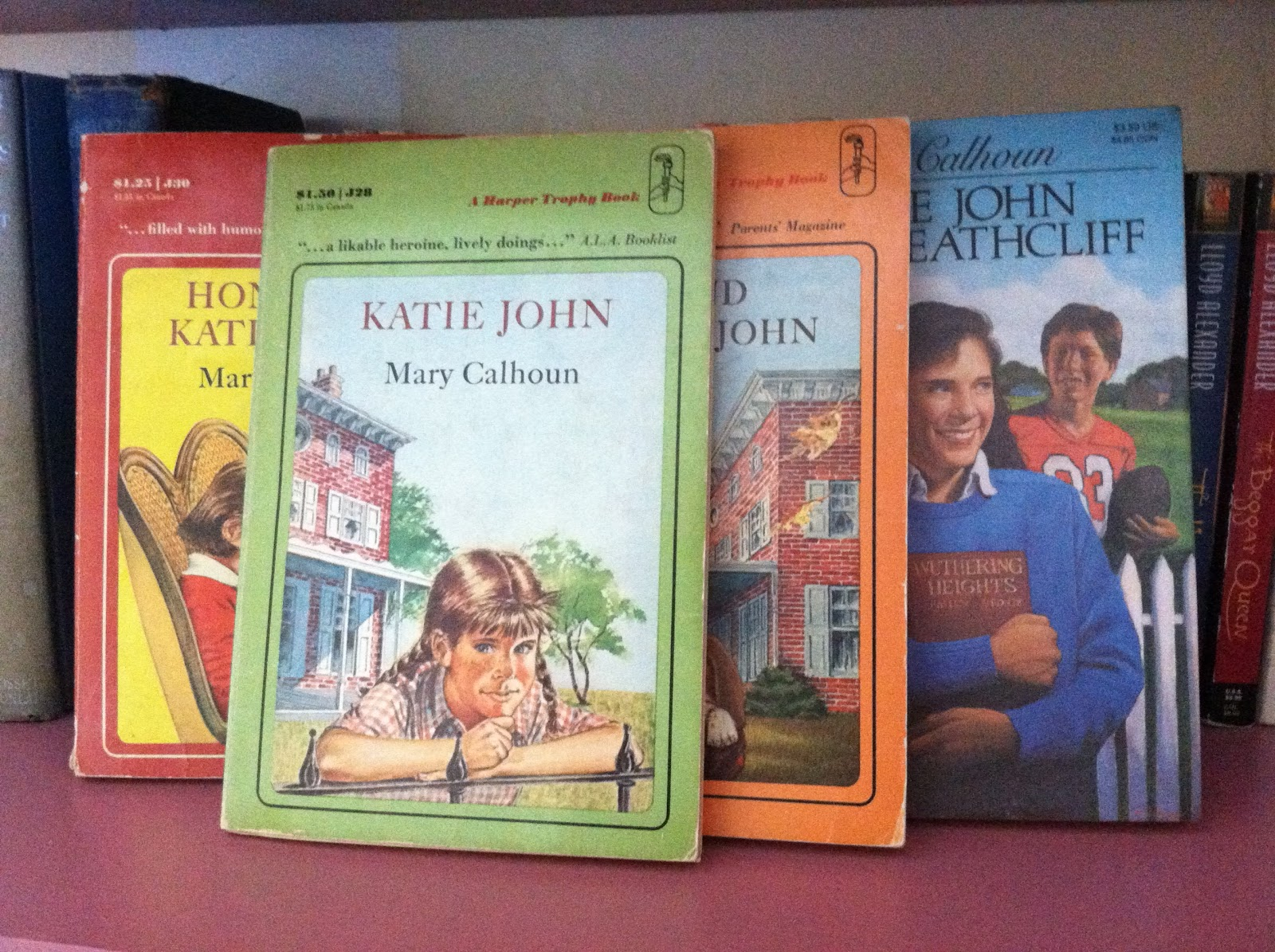 Katie John by Mary Calhoun