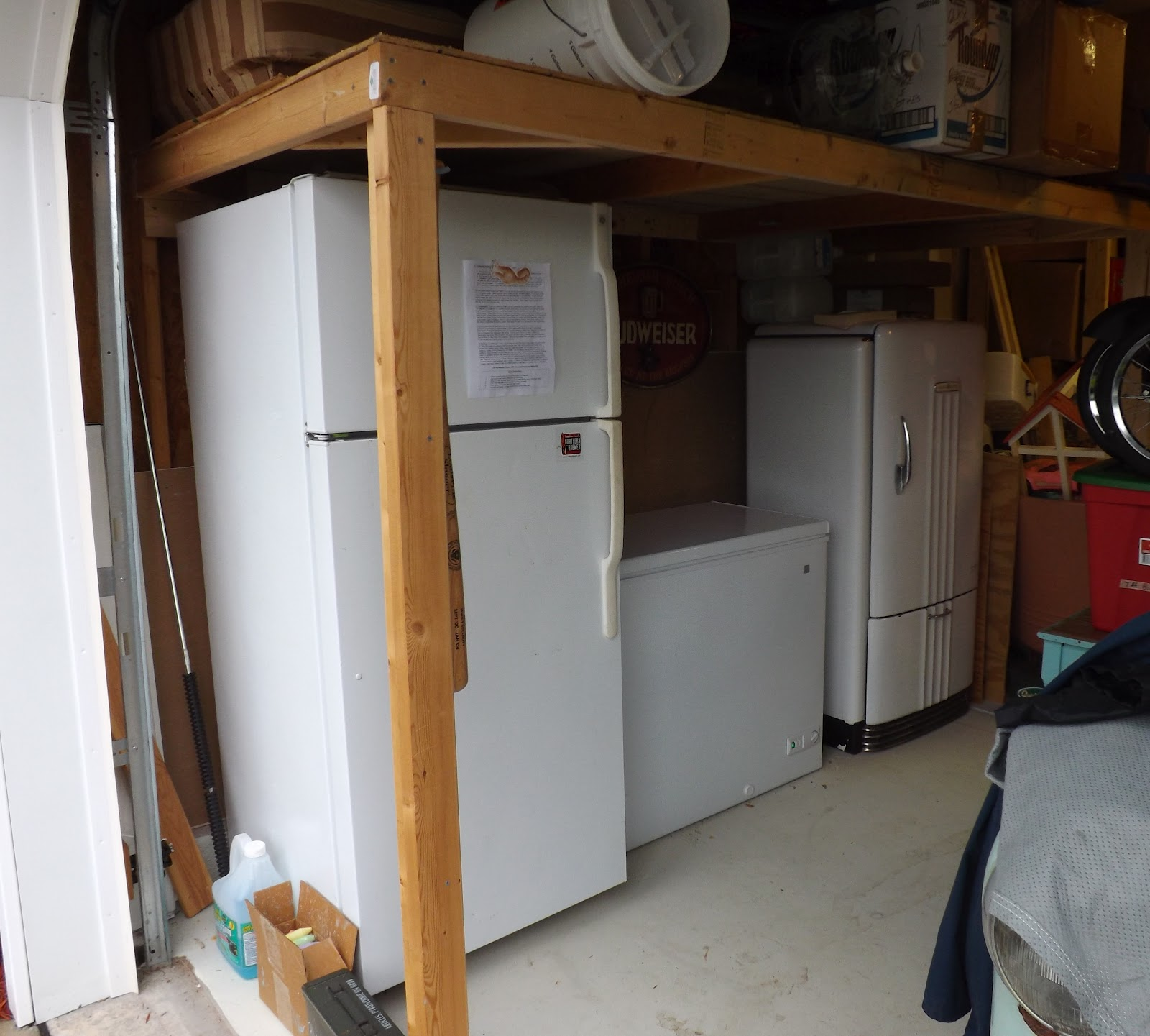 p fridge spare style suit integrated fridges freezers garage for freezer in