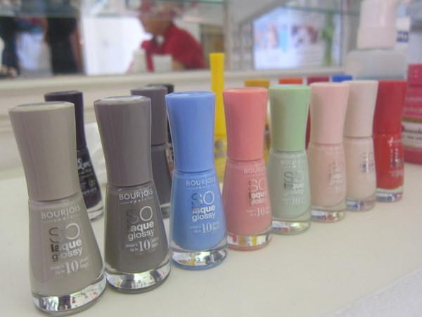 Bourjois So Laque Glossy Nail Enamel Rendez Vous a Paris collection