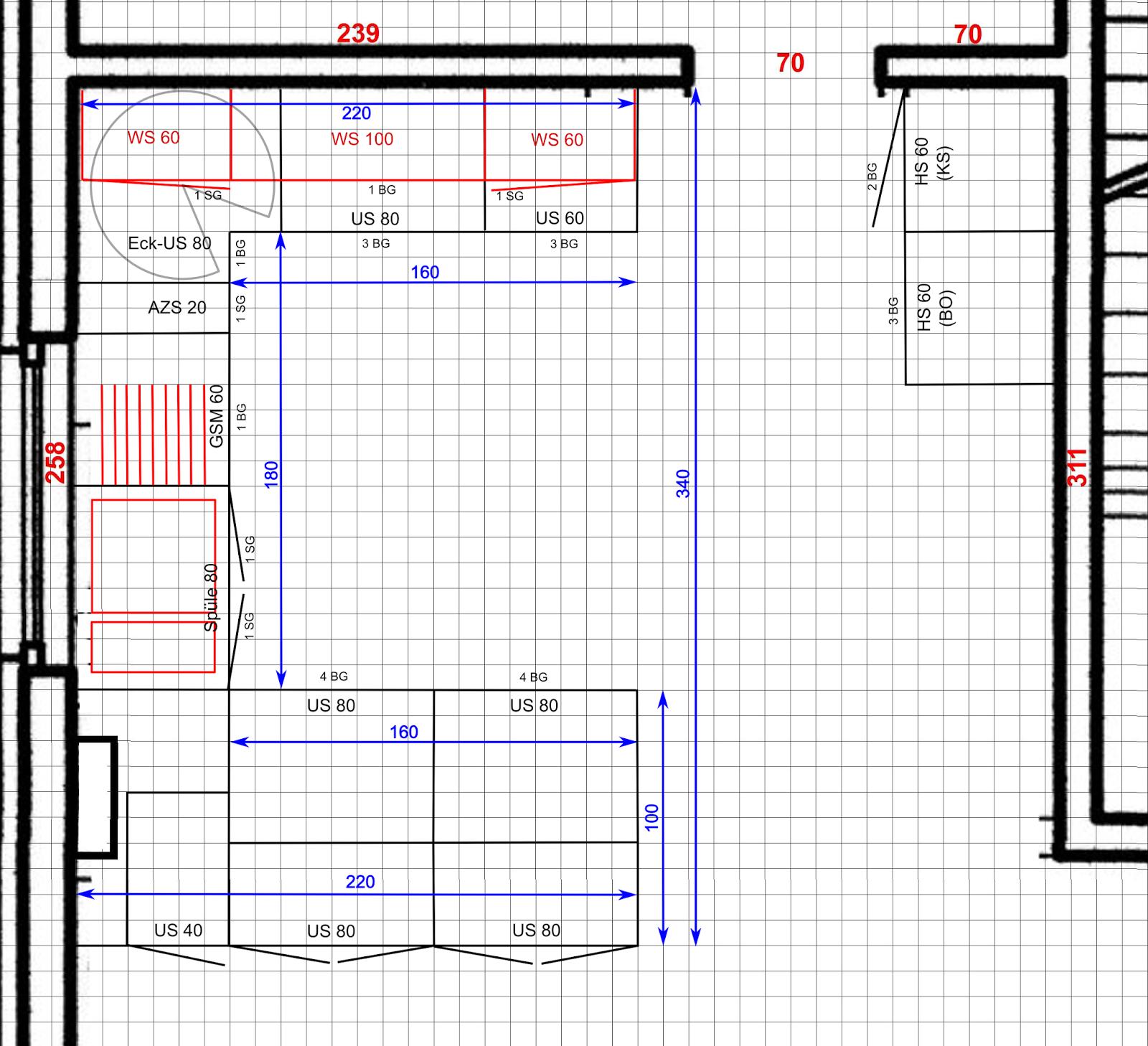 Bautagebuch Hassenroth: Küchenplanung