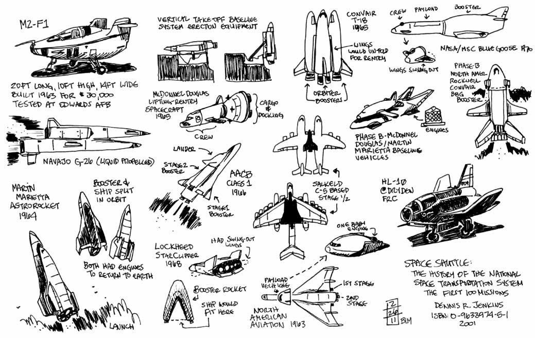 unused space shuttle design - photo #49