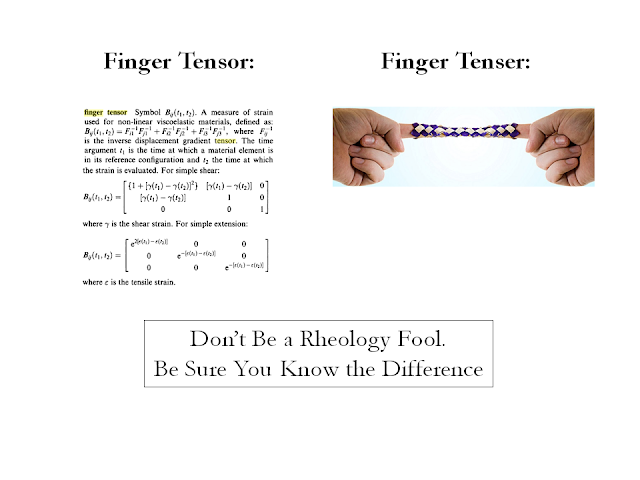 Finger tensor vs. finger tenser
