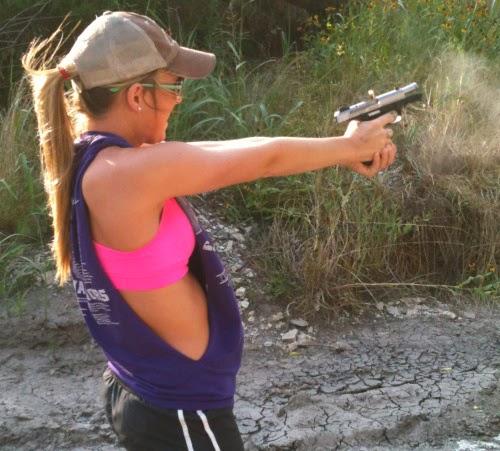 girls guns Amateur with