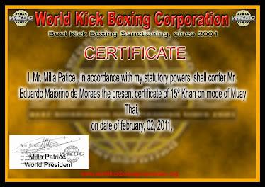 Certificate WKBC