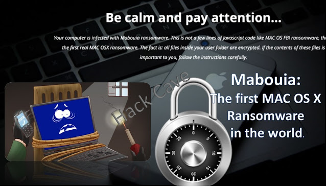 Mabouia: The first MAC OS X ransomware