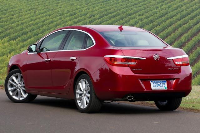2015 New Level Buick Verano back view