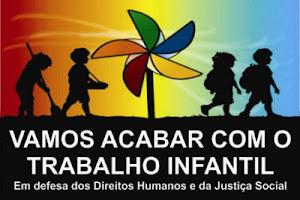 TRABALHO INFANTIL...