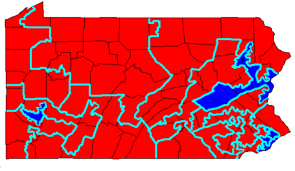 Carbonacea Geology And Gerrymandering Anthracite And - Us house district map pennsylvania