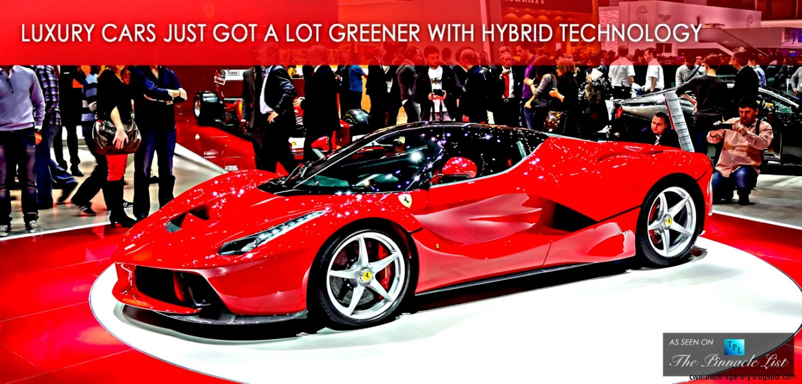 Luxury Cars Just Got a Lot Greener with Hybrid Technology at the