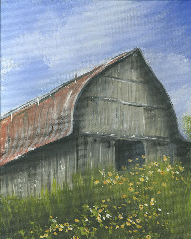 Barn painting
