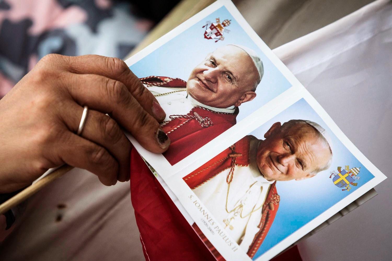 Ferenc pápa, II. János Pál pápa, szentté avatás, Vatikán, XXIII. János pápa,