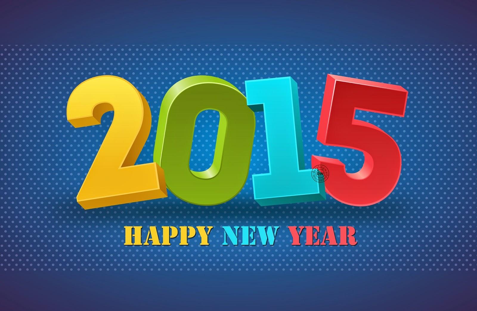 Wallpaper Happy New Year 2015 BBM Whatsapp