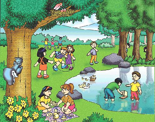 Dibujos para niños de como cuidar el medio ambiente - Imagui