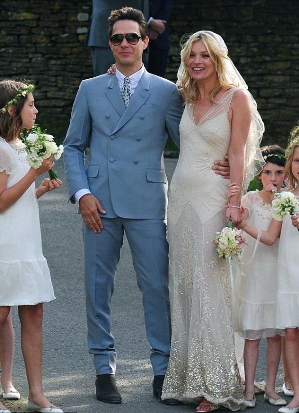 JULES FASHION: - Kate Moss\' Wedding Day : les toutes premières ...