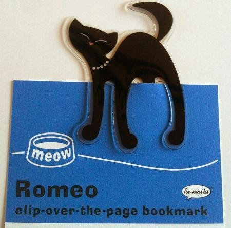 Romeo cat bookmark