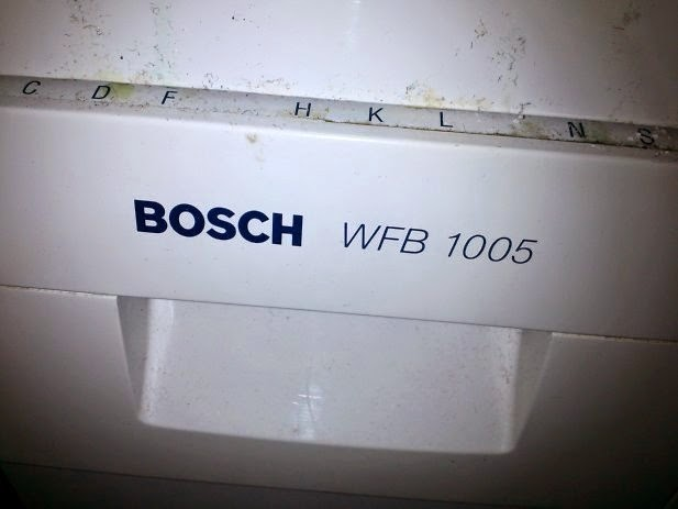 bosch washing machine troubleshooting