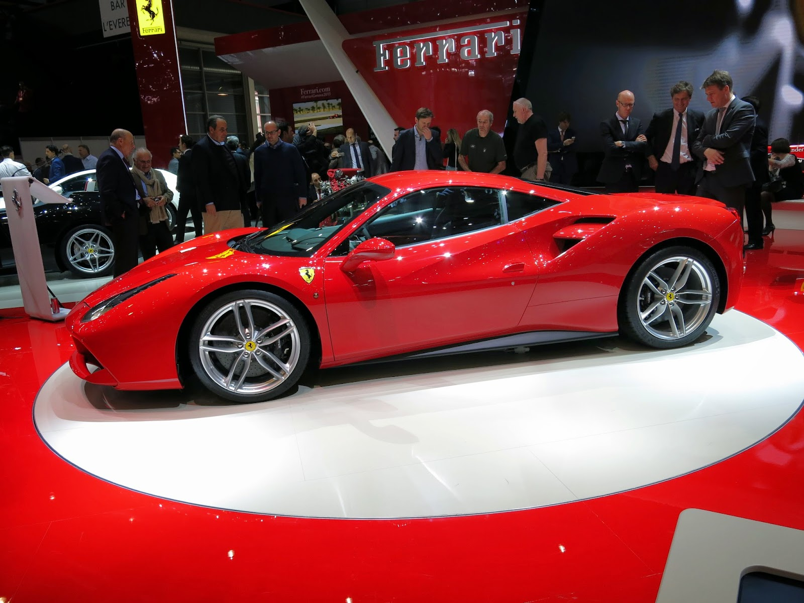 Great Ferrari 458 GTB At The Geneva Motor Show Via Norbert Aepli, Switzerland [CC  BY 4.0 (http://creativecommons.org/licenses/by/4.0)], Via Wikimedia Commons