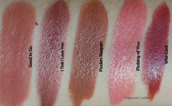 Benefits Cosmetics Lipstick Swatches
