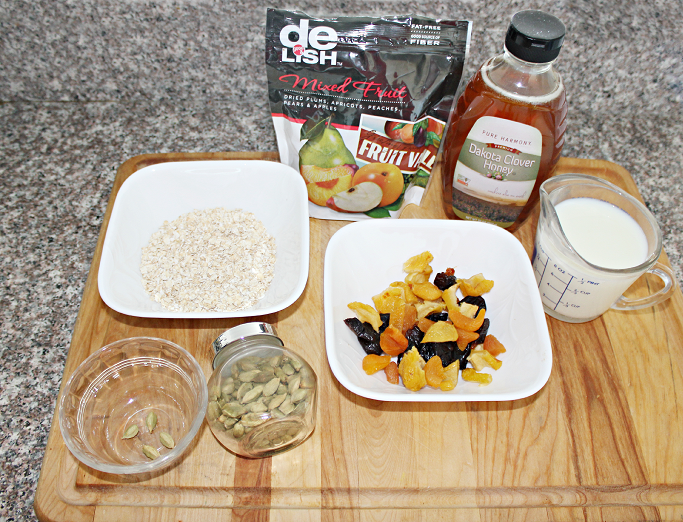 Healthy Oatmeal breakfast recipe, Delish Dry Fruits, #DRSpringTime, #CollectiveBias