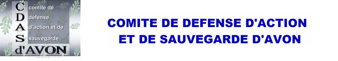 COMITÉ DE DÉFENSE, D'ACTION, ET DE SAUVEGARDE D'AVON