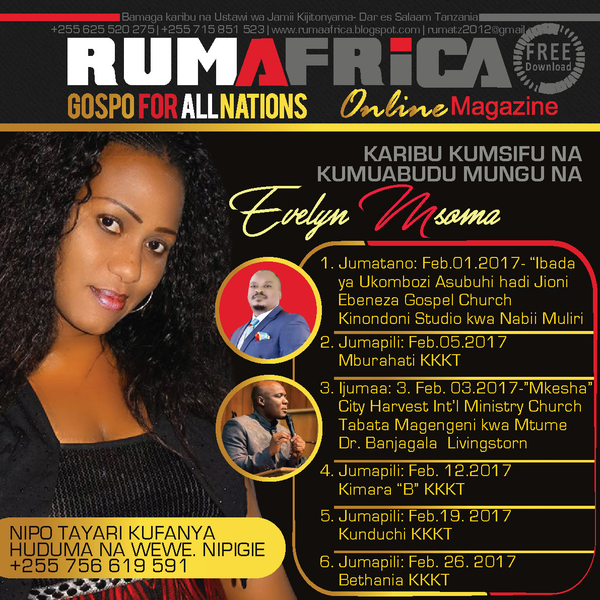 EVELYN MSOMA