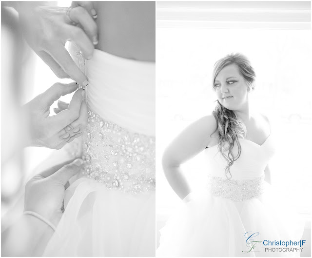 Chicago Bridal Party Getting Ready Photos