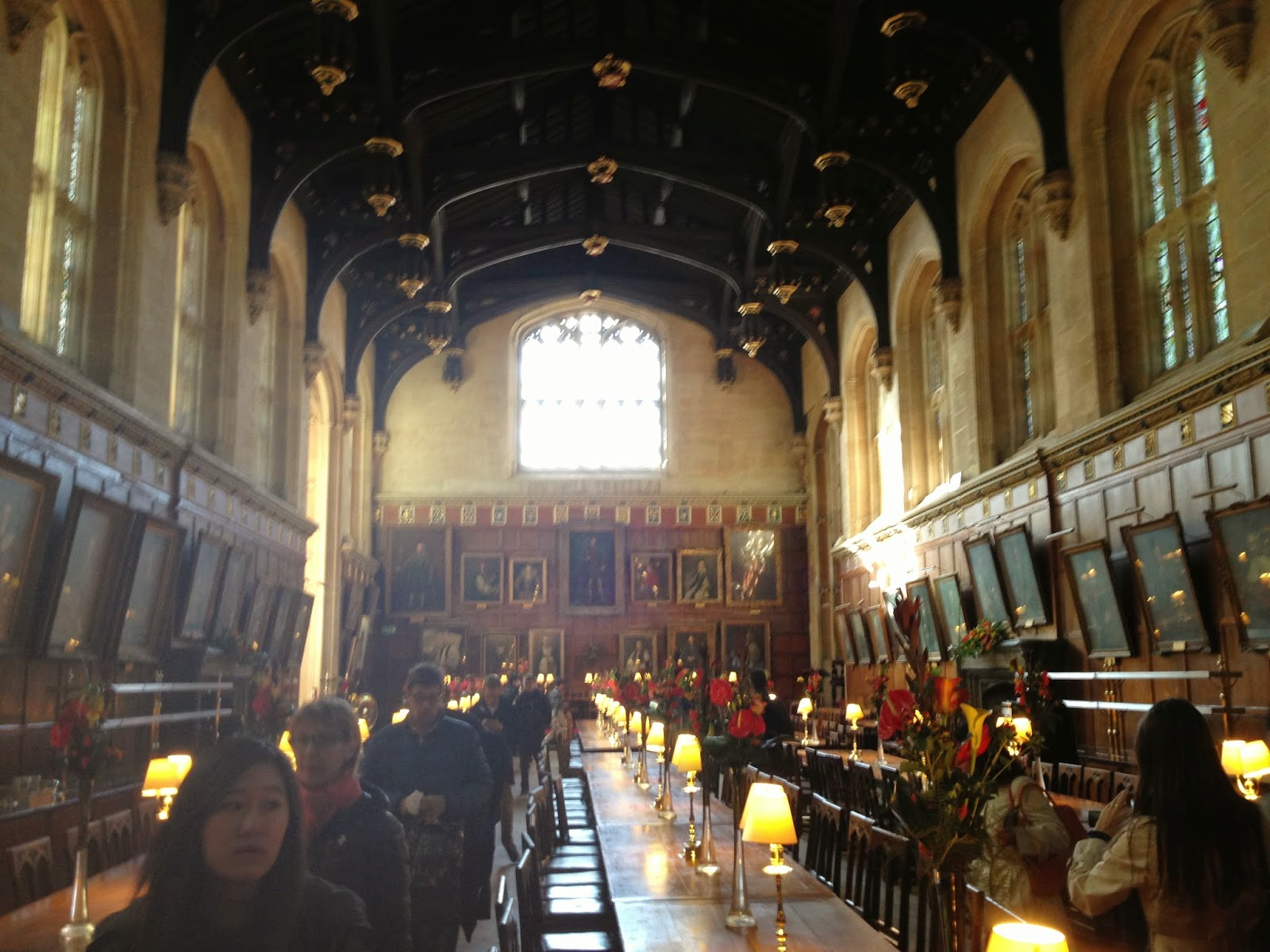 Julie pennell a harry potter fans guide to oxford christ church college dining hall hogwarts great hall publicscrutiny Choice Image