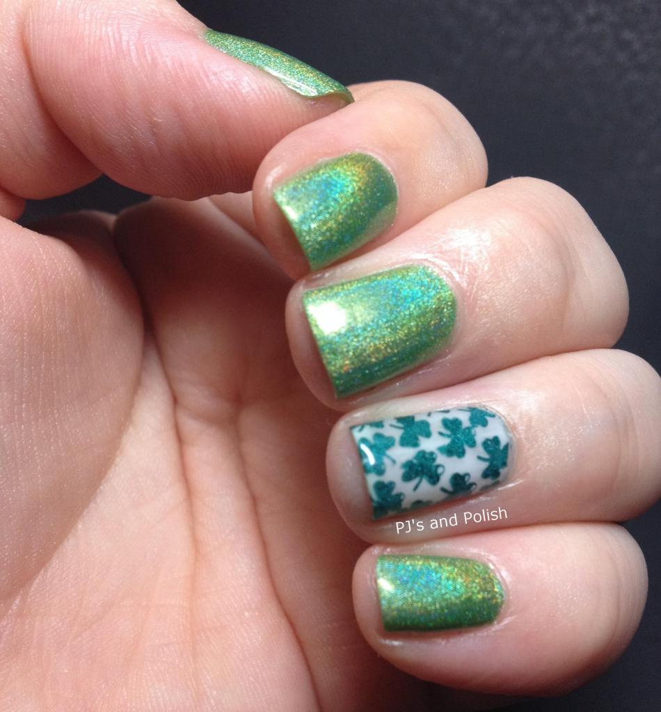 Swatch and Review Colors by Llarowe CBL St. Patricks Day Young Grasshoppa Coconut A England St. George MoYou London Sunday Stamping HK Girl