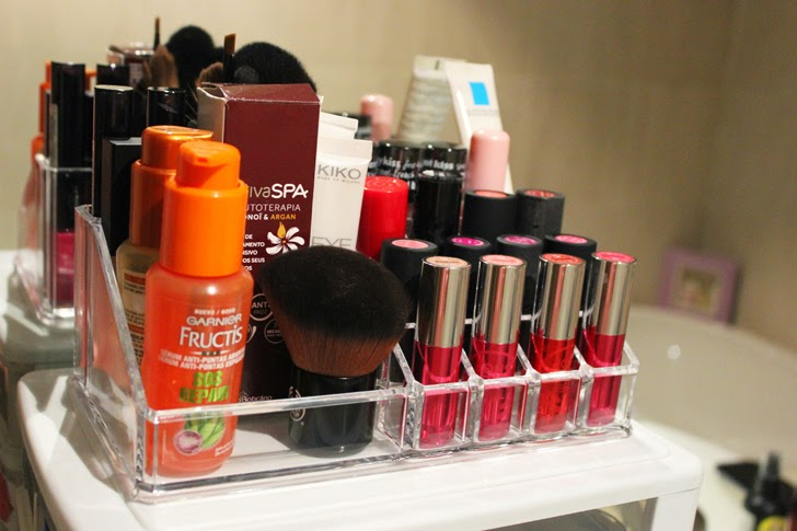 Organizador beleza maquilhagem
