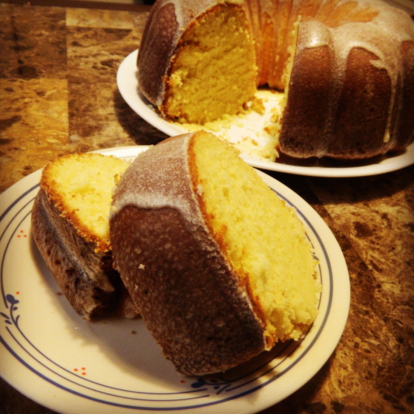 Franny\'s Palate Files: Double Glazed Lemon Bundt Cake
